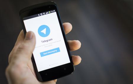 telegrama: Aplicaci�n Telegram Mensajero