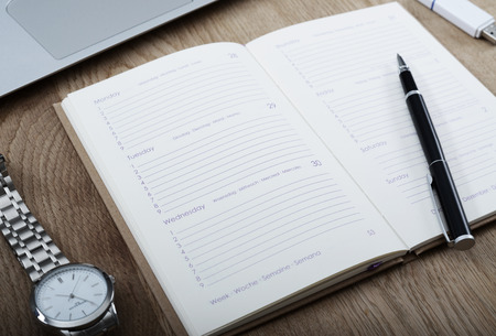 Save the date - agenda mockup