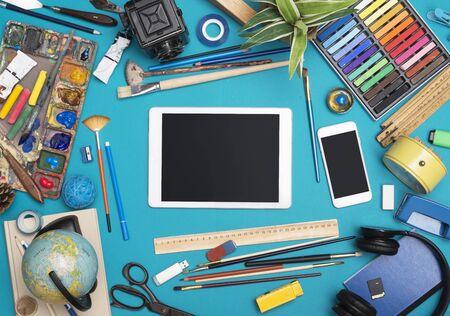 Creative responsive design header image