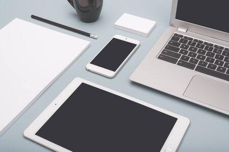 responsive design office template
