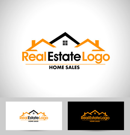 estate: Real Estate Design. House Design. Creative Real Estate Vector Icons