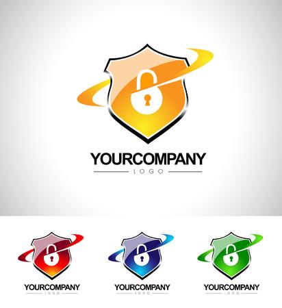 Security Shield Design. Shield Icon concept. Anti-virus protection.