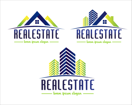 Real Estate Design. House Design. Creative Real Estate Vector Icons