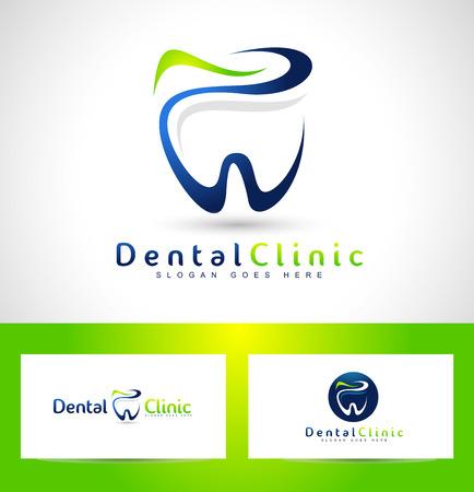 Dental logo. Dentiste Logo. Dental Clinic Creative Company logo vectoriel. Banque d'images - 44256323
