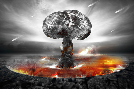 Atomic Bomb Stock Photo
