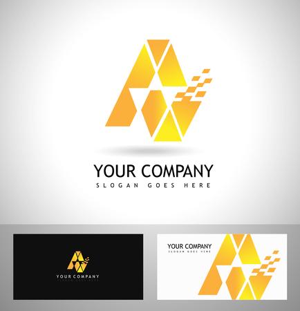 A Letter Logo Design. Vector logo with letter e creative concept.