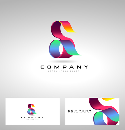 S Letter Design. with letter S creative concept.