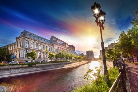 Bucarest City Center Banque d'images - 59249087