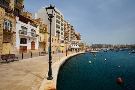 julian: View on Saint Julien Bay, Malta