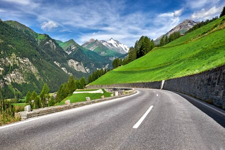 hochalpenstrasse: Grossglockner Austria - High Alpine Mountain Road -Hochalpenstrasse