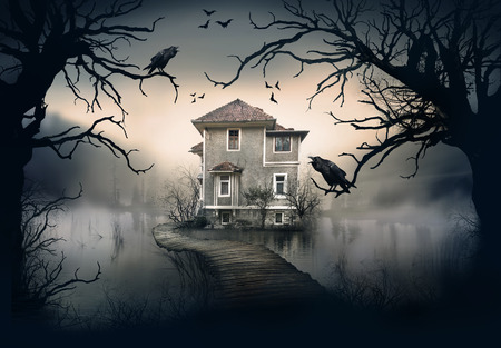 Haunted House Stock Photos And Images - 123RF