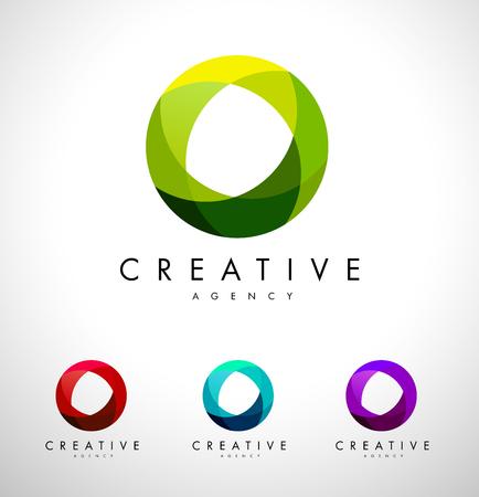 Circle, Circular Corporate Logo.Abstract Corporate Logo Design