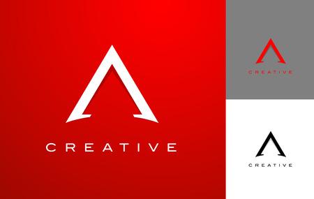 Letter A Logo Design. A Icon Design  Illustration Vector. Vettoriali