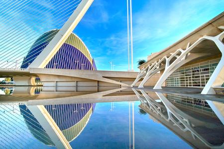 芸術、科学、アゴラのバレンシア スペイン都市