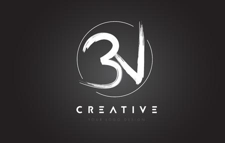 bn: BN Brush Letter Logo Design. Artistic Handwritten Brush Letters Logo Concept Vector.