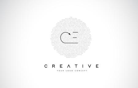 CE C E Logo Design with Black and White Creative Icon Text Letter Vector.
