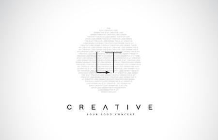 LT L T Logo Design with Black and White Creative Icon Text Letter Vector.