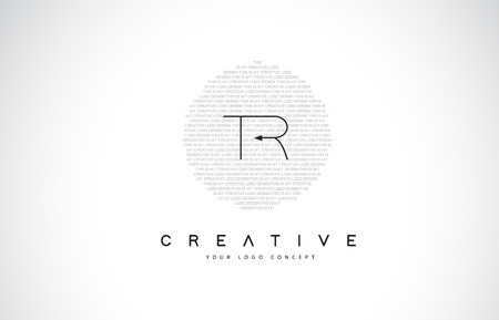 TR T R Logo Design with Black and White Creative Icon Text Letter Vector.