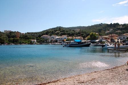 corfu: Agios Stefanos, Corfu, Greece Stock Photo