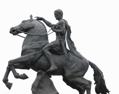 Philip II, father of Alexander the Great, Bitola, Macedonia photo