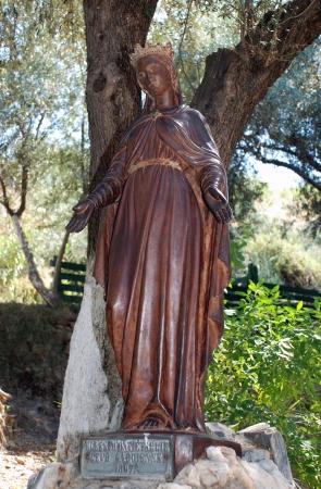 Statue of Virgin Mary, Ephesus, Izmir, Turkey photo