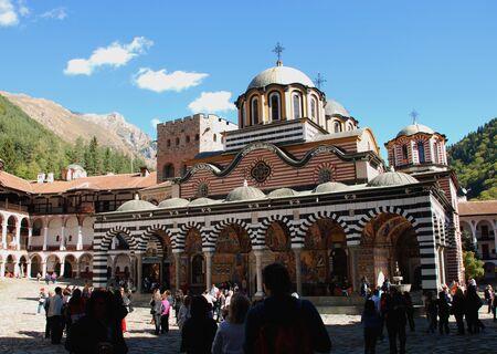 Monastery of St John Rilski, Rila Mountain, Bulgaria Stock Photo - 15767612