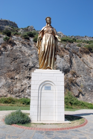 Virgin Mary in Selcuk, Ephesus, near Izmir, Turkey photo