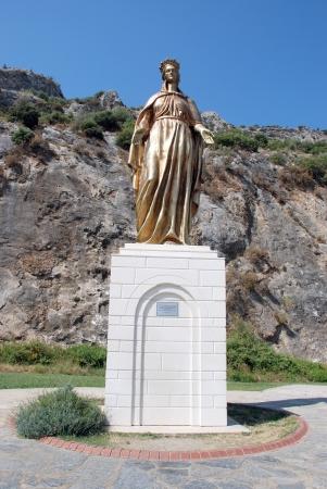 Virgin Mary in Selcuk, Ephesus, near Izmir, Turkey Stock Photo - 16807630
