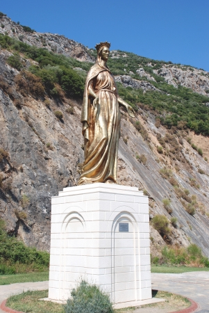 Virgin Mary in Selcuk, Ephesus, near Izmir, Turkey Stock Photo - 16807635