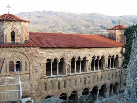 Quant à l'église de Sainte-Sophie, Ohrid, Macédoine Banque d'images - 18047414