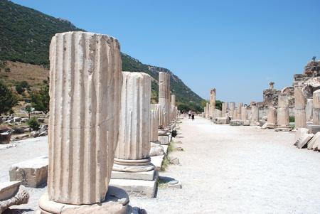 locality: Part on the locality of Ephesus, Izmir, Turkey