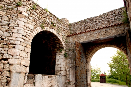 samuel: Part of Samuel s Fortress in Ohrid, Macedonia