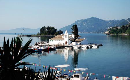 kerkyra:  Monastery Vlahelna, Kerkyra, Corfu Island, Greece