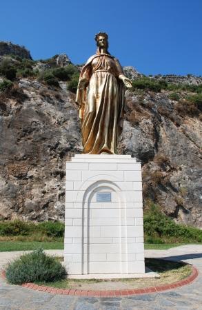 Statue of Virgin Mary, Ephesus, Izmir, Turkey Stock Photo