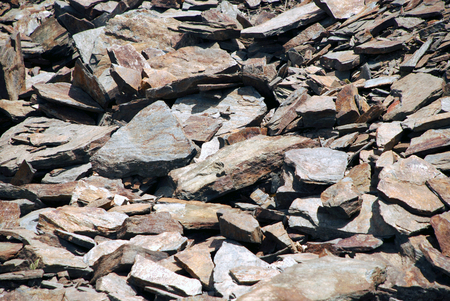 grayness: Background of flat stones