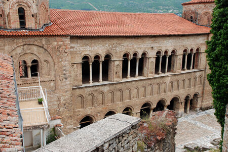 southeast europe: Church of St Sophia, Ohrid, Ohrid Lake, Macedonia Stock Photo