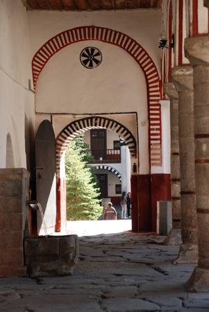 the orthodox church: Orthodox Church. Rila Monastery Bulgaria