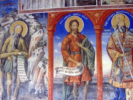 st john: Monastery of St. John the Baptist, Macedonia