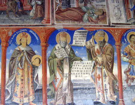 st  john: Monastery of St. John the Baptist, Macedonia