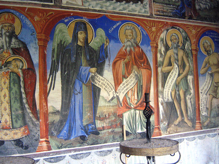 john the baptist: Monastery of St. John the Baptist, Macedonia