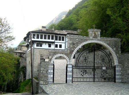baptist: Monastery of St. John the Baptist, Macedonia
