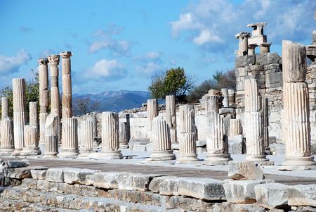 pre: Ephesus, Izmir, Turkey, Middle East