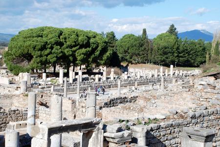 significantly: Ephesus, Izmir, Turkey, Middle East