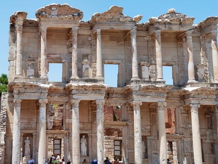 localities: Celsus Library in Ephesus, Turkey