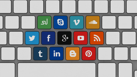background skype: Press Your Social Media Sites Editorial