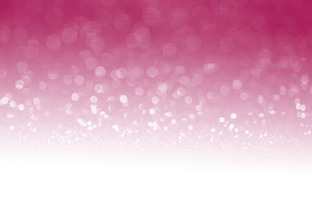 special occasions: Pink glitter surface with pink light bokeh with white empty copy space  - It can be used for background for special occasions promotion campaign or product display