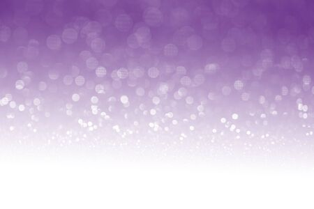 special occasions: Purple glitter surface with purple light bokeh with white empty copy space - It can be used for background for special occasions promotion campaign or product display