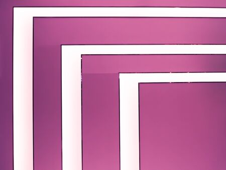 angles: Photo of light angles in bright pink background.