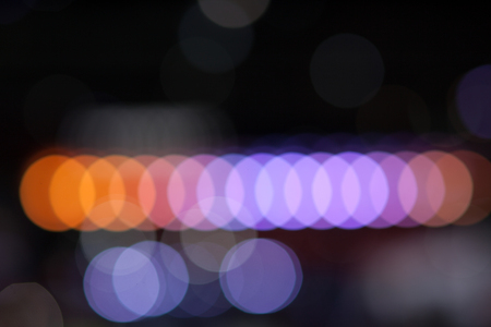 lineas rectas: Straight lines of colourful bokeh for background Foto de archivo