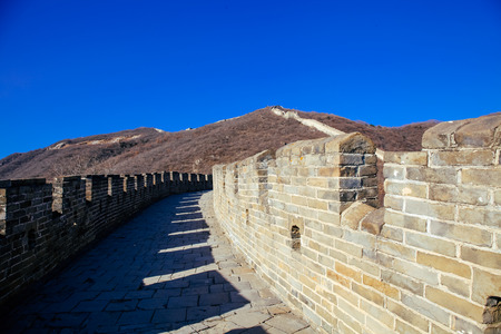 mutianyu: Great Wall of China Landscape - Tourist Attraction in Beijing, China